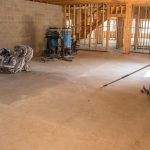 gearing up for custom polished concrete flooring