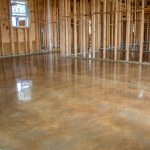 custom atristic polished concrete flooring