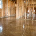custom polished concrete flooring