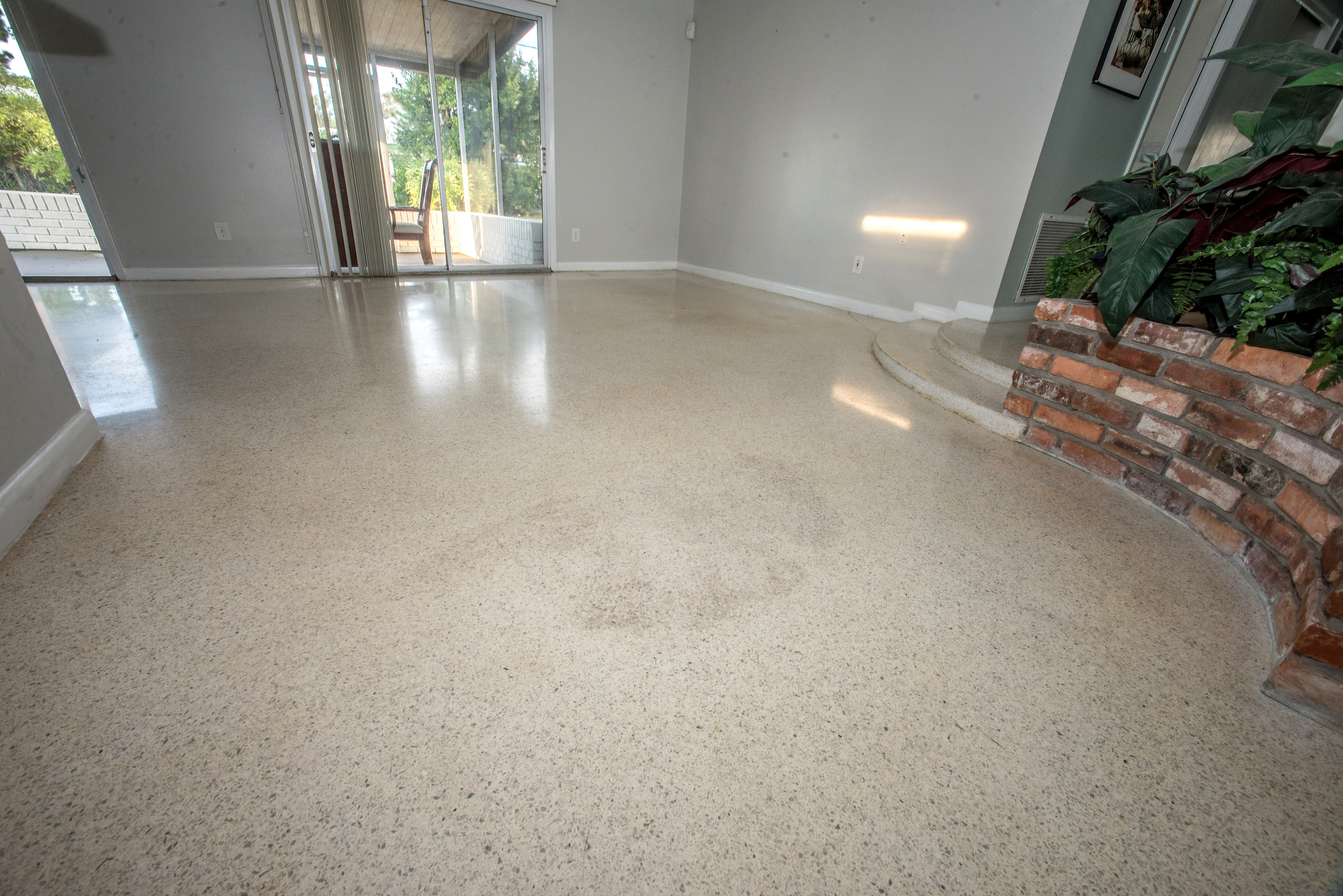 floor terrazzo after with cleaning deep floors vinegar tips restoration and stone tiles old etched polishing
