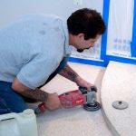 Nothing is overlooked when we restore a terrazzo floor.