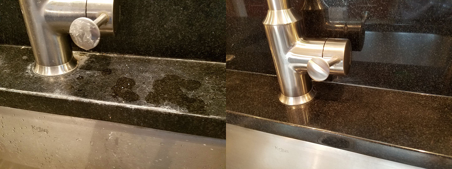 Sanitize, Restore, And Maintain Marble And Granite Countertops
